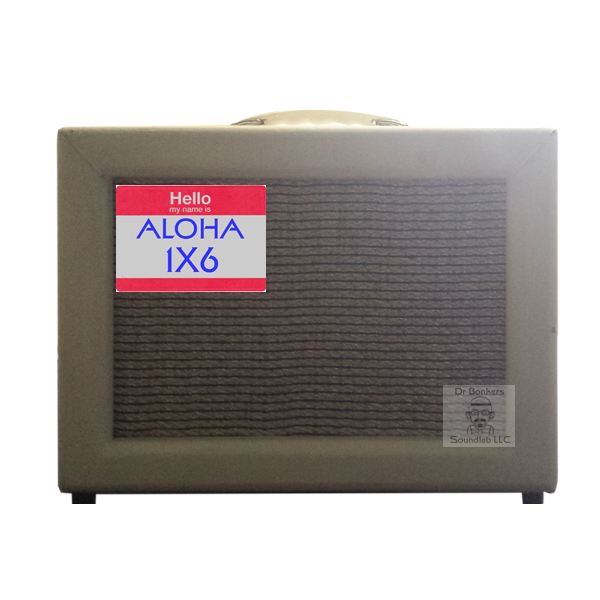 Impulse Response (IR) File Guitar Cabinet Tribute to Valco Supro 1606 Guitar Amp branded as Oahu Publishing of Cleveland Ohio 1X6 Cabinet