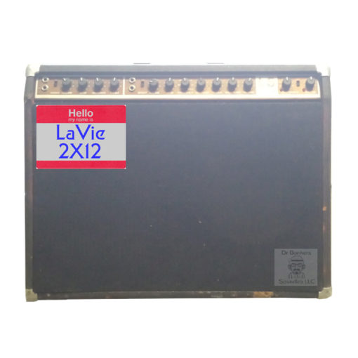 WAV files and Fractal Audio Systems Format Guitar Cabinet Impulse Response files (IR) based upon a Norlin era Gibson Moog Lab Series L5 2X12 Guitar Amp Cabinet