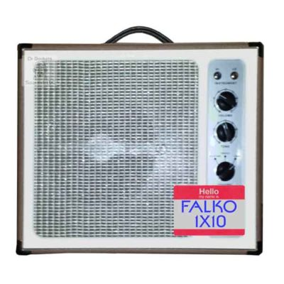 guitar speaker impulse response files (R) for Tone King Falcom 1X10 Guitar (Cab) Cabinet