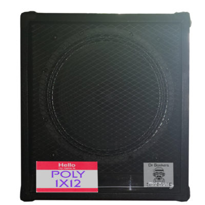 guitar speaker impulse response files (R) for Polytone Mini Brute II 1X12 Guitar and Bass (Cab) Cabinet