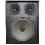 1X15+2X8 guitar cab impulse response files (R) tribute to 1970's-era Polytone® Pro Series™ 1X15 plus 2X8 Guitar Amp Cabinet. which included the original 1X15 and 2X8 Polytone® unlabeled proprietary speakers without grille